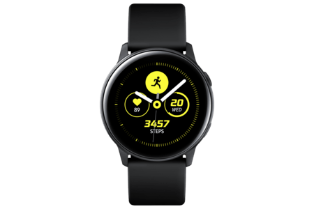 Samsung-Galaxy-Watch-Active-schwarz-CH-Modell